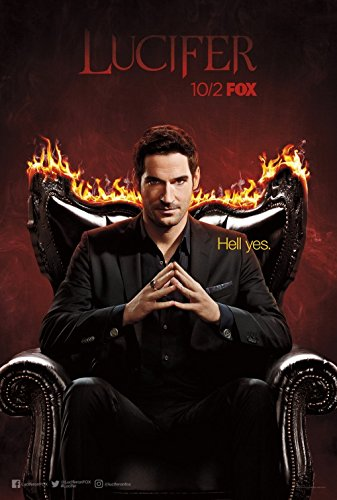 Lucifer Original Promo TV Poster Sdcc 2017 San Diego Comic Con