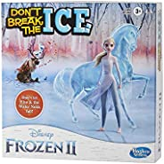 Hasbro Gaming Don't Break The Ice Disney Frozen 2 Edition Game for Kids Ages 3 and Up, Featuring Elsa and