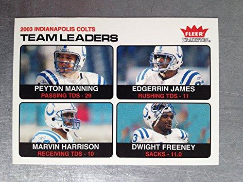 2004 Fleer Tradition Football 5 Peyton Manning NM/M (Near Mint/Mint)