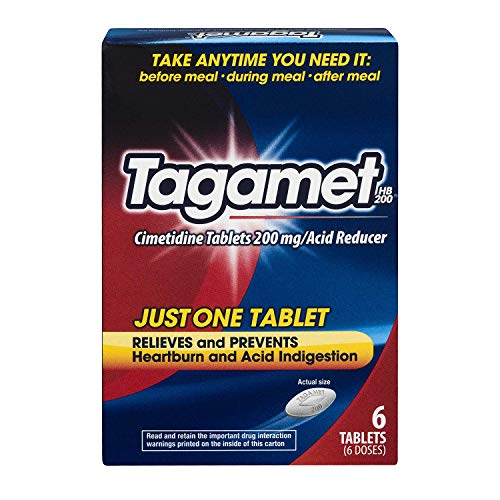Image of Tagamet HB 200mg, 6 Tablets (Pack of 3)