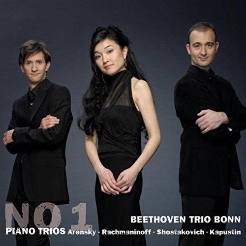 Arensky & Rachmaninoff & Shostakovich & Kapustin: No. 1 Piano Trios ()