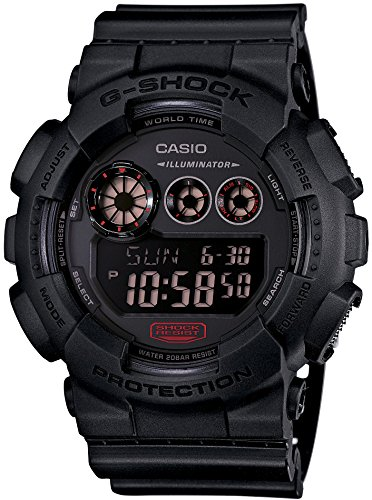 CASIO G SHOCK Military Black GD 120MB 1JF