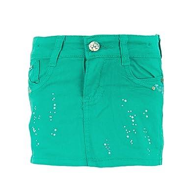 Dress-O-Mat - Falda - Básico - para niña verde 8 años: Amazon.es ...