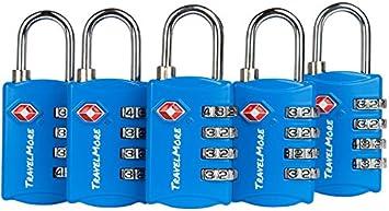 Travel Lock Strap Set Padlock Combination Baggage Holiday Tag Boys Toyz