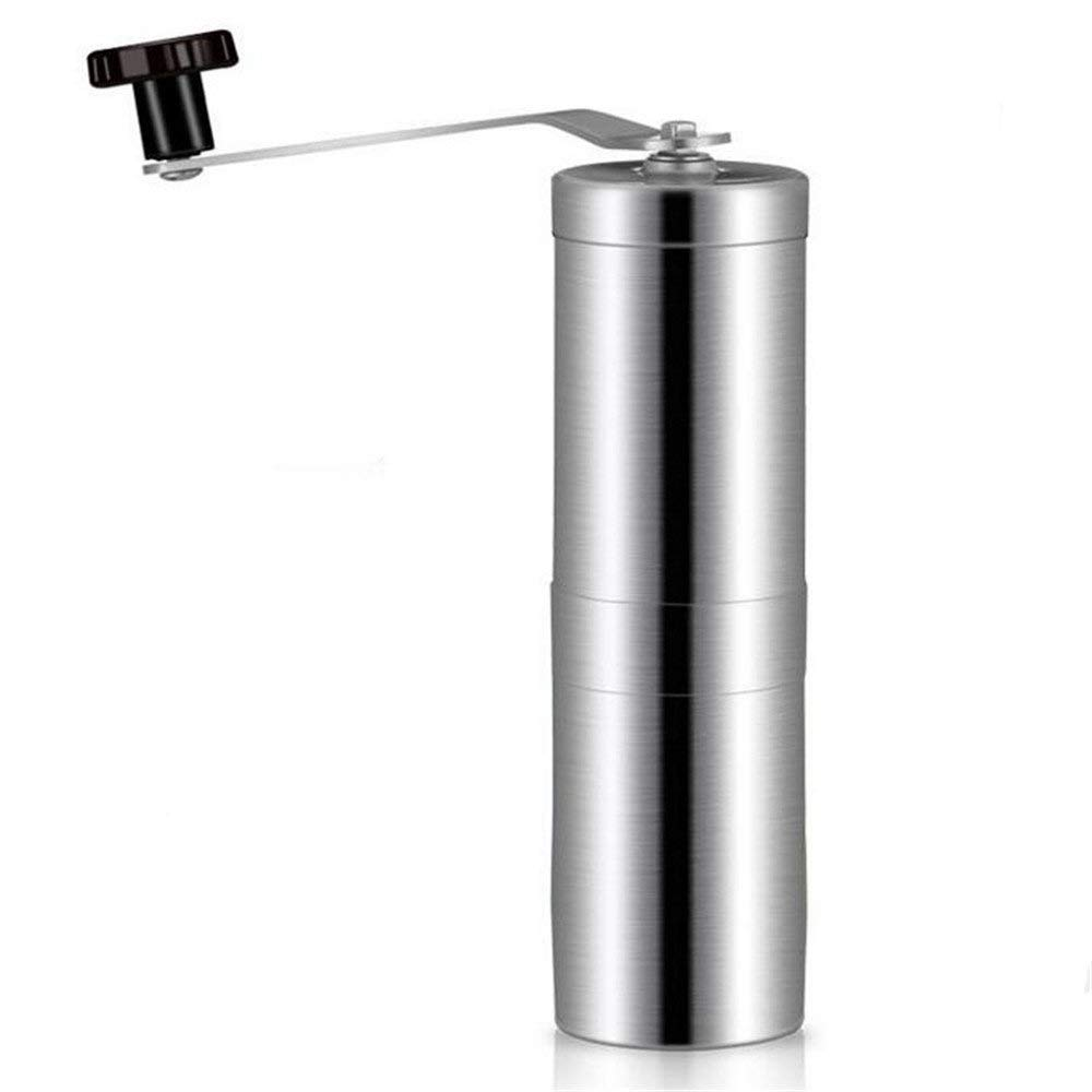 RUIMA Household stainless steel manual coffee grinder home grinding machine pulverizer portable travel out to carry