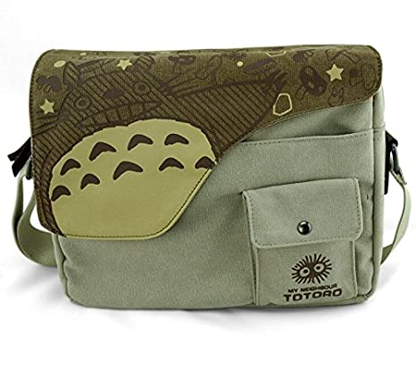 Amazon.com  Japanese Anime Totoro Shoulder School Bag Messenger Bags   Sports   Outdoors e6c94c470ecdc