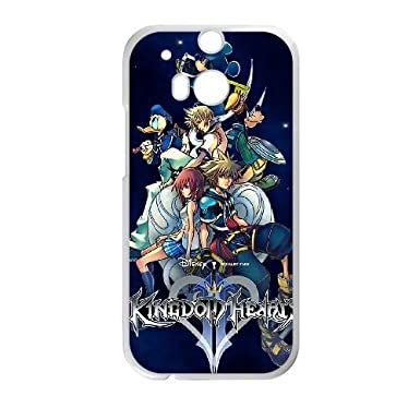 Kingdom Hearts Ii Wallpaper 6 Htc One M8 Cell Phone Case Cover White