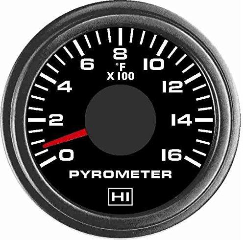 Hewitt 010TM5010 - Universal Pyrometer Gauge Kit by TruckMeter