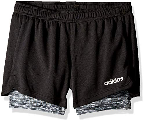 adidas Girls Big Two in One Shorts