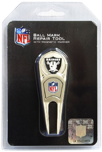 Oakland Raiders Repair Tool and Ball Marker by McArthur Sports