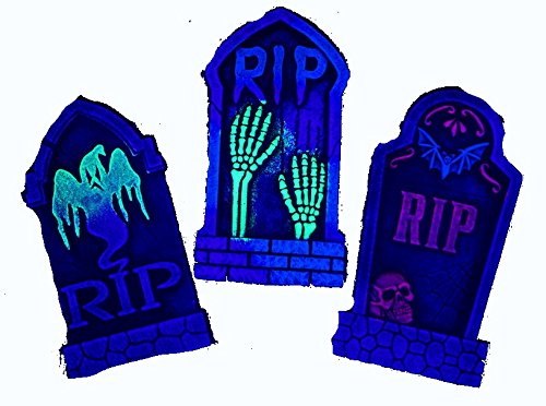 Blacklight Decorations (Set of 3 16