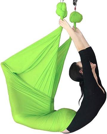 XDTCHEN Columpio para Yoga aéreo, Juego de Hamaca voladora ...