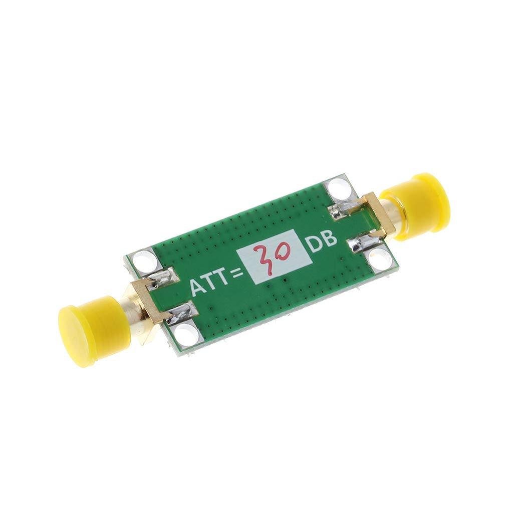 6dB 20dB 10dB 30dB WINJEE 40dB Atenuador de Ganancia Fija 0-3GHZ Atenuador RF para amplificadores de radioaficionados Tipo-1