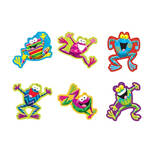 Mini Accents Frog - TREND enterprises, Inc. Frog-tastic! Mini Accents Variety Pack, 36 ct