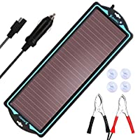 SUNAPEX 1.8W 12V Solar trickle Charger,B...