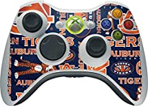 Auburn University Xbox 360 Wireless Controller Skin - Auburn Pattern Print Vinyl Decal Skin For Your Xbox 360 Wireless Controller by Skinit