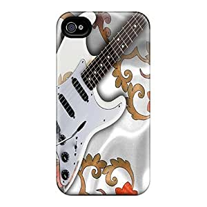 Iphone 4/4s Case Slim [ultra Fit] Guitar Protective Case Cover