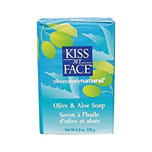 Kiss My Face Moisturizing Bar Soap for All Skin Types - Olive & Aloe - 8 oz