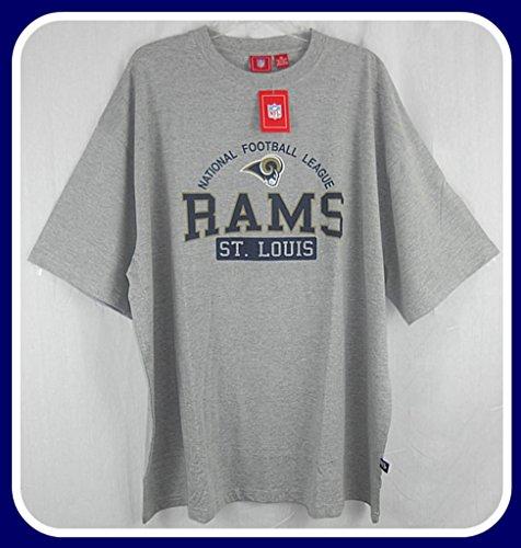 ST LOUIS RAMS NFL LICENSED TEE SHIRT BIG & TALL SIZES NWT (2XT)