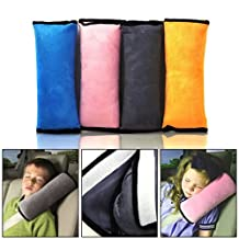 EFORCAR(R) 1 PCS Car Pillow seat Belt Shoulder Cover Pad Protector Assorted Colors For Child Kid (Random Color)