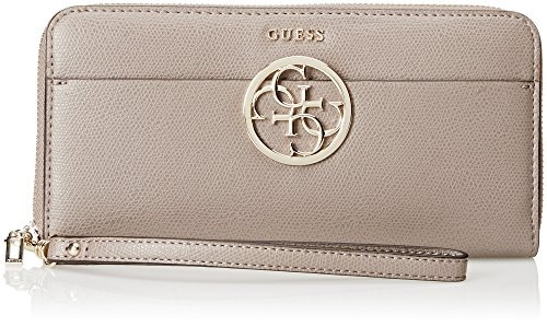 GUESS Devyn - Monedero Mujer Gris (Taupe)