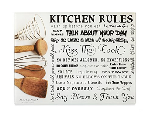 kiss the cook wooden sign - 8
