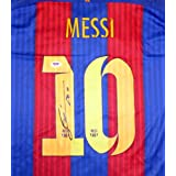 """Lionel """"leo"""" Messi Autographed Signed Barcelona Nike Jersey Fifa 2015 - PSA/DNA Certified - Autographed Soccer Jerseys"""