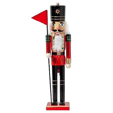 50CM Navidad Cascanueces de Madera Soldado Marionetas de Madera Muñeca, Regalo para Navidad Boda Cumpleaños Decorativo y Juguetes de Marionetas para ...
