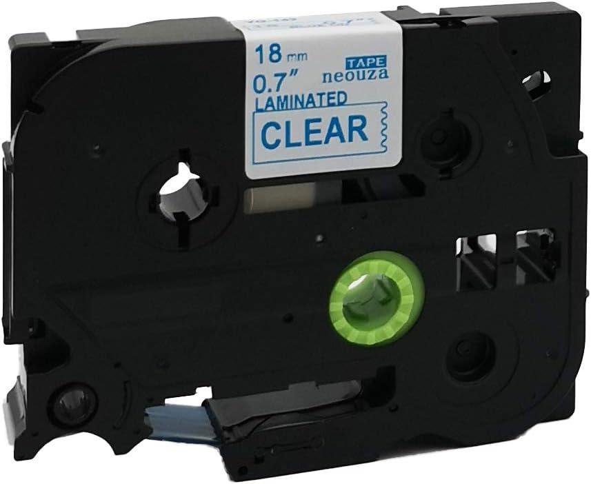 Fluoreszierend Orange Label Tape 18/mm Kompatibel f/ür Brother tz-b41/tze-b41/P-Touch