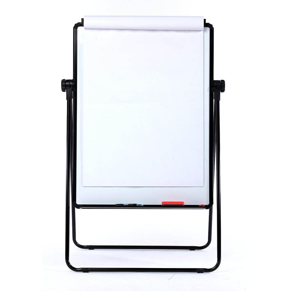 Case of 10, VIZ-PRO ECO Magnetic U-Stand Whiteboard/Flipchart Easel, 28'' X 36'', Black by VIZ-PRO (Image #3)