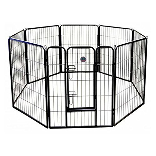 Go Pet Club Heavy Duty Pet Play and Exercise Pen with 8 Pane