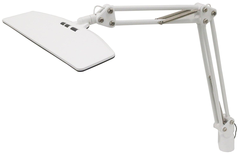 興和 【LUPINUS】 「多重影ができにくい」 大型面発光LEDアームライト(クランプタイプ) ホワイト EK263-WH2 B01AVRB2VC
