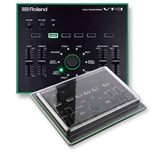 Roland AIRA VT-3 Voice Transformer & Decksaver DSS-PC-VT3 Impact Resistant Polycarbonate Cover - Bundle
