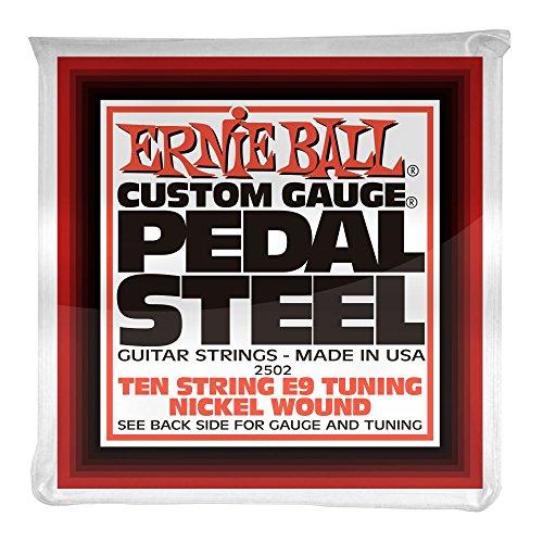 Ernie Ball Pedal Steel Nickel Wound 10-String Set, E9 Tuning