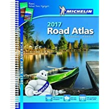 Michelin North America Road Atlas 2017, 15e