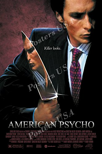 Posters Usa   American Psycho Movie Poster Glossy Finish   Mov257  24  X 36   61Cm X 91 5Cm