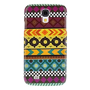 Concatenate Graphic Pattern Protective Hard Back Cover Case for Samsung Galaxy S4 I9500