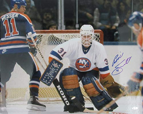 Billy Smith Islanders Signed 16x20 Color Photo Steiner 139995 ()