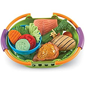 Learning Resources New Sprouts Healthy Dinner, 14 Piece Set