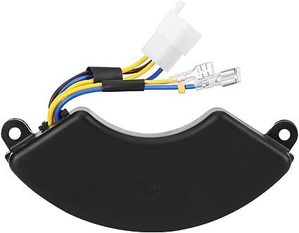 Regulador de voltaje - Regulador de voltaje automático en forma de arco AVR para 6.5KW 7KW 8.5KW generador de gasolina de 6 hilos de 6 fases