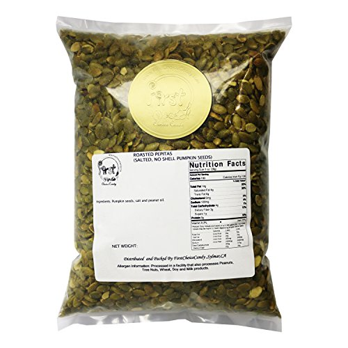 (Pumpkin Seeds Pepitas Roasted/Salted 3 Pound Bulk Bag)