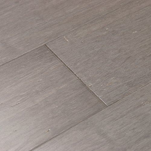 Cali Bamboo - Solid Wide Click Bamboo Flooring, Vintage Moonlight Gray - Sample