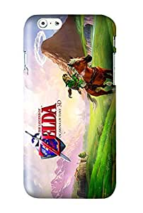 The Legend of Zelda : Ocarina of Time Game Snap on Plastic Case Cover Compatible with Apple iPhone 6 and 6s