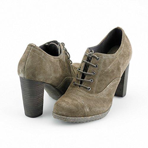Scholl - Zapatos de vestir de cuero para mujer beige Taupe 1062