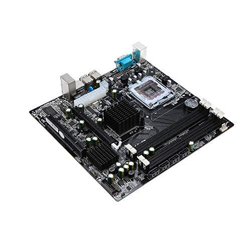 FidgetGear P45 Desktop Computer Motherboard 771/775 4 DDR2 Slots 4x3 PCI-E x16 I3U7