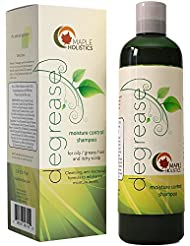 Shampoo for Oily Hair & Oily Scalp - Natural Dandruff...
