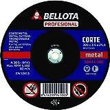 Bellota Profesional - Disco abrasivo para maquina estacionaria, corte metal (300 mm)