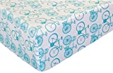 Bicycles 100% Microfiber (FITTED SHEET ONLY) Size TODDLER Boys Girls Kids Bedding