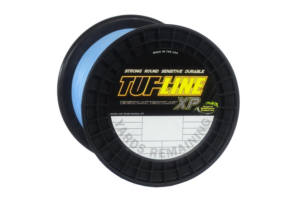 Tuf-Line XP 1200-Yard Braided Fishing Line, Blue, 65-Pound