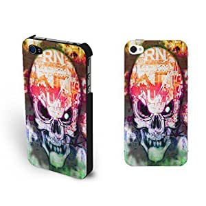 Super Cool Skull For SamSung Note 4 Case Cover Monogrammed Coloful Skeleton Eye For SamSung Note 4 Case Cover Personalized for Boys